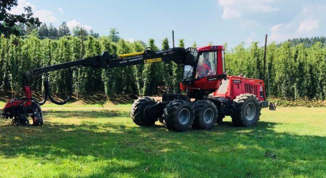 Neuer Harvester – Komatsu 941