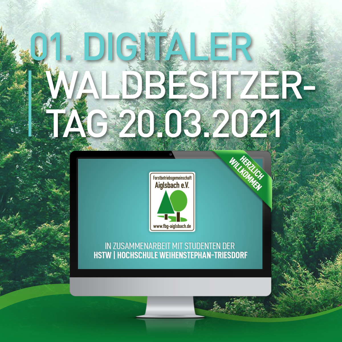 Digitaler Waldbesitzertag