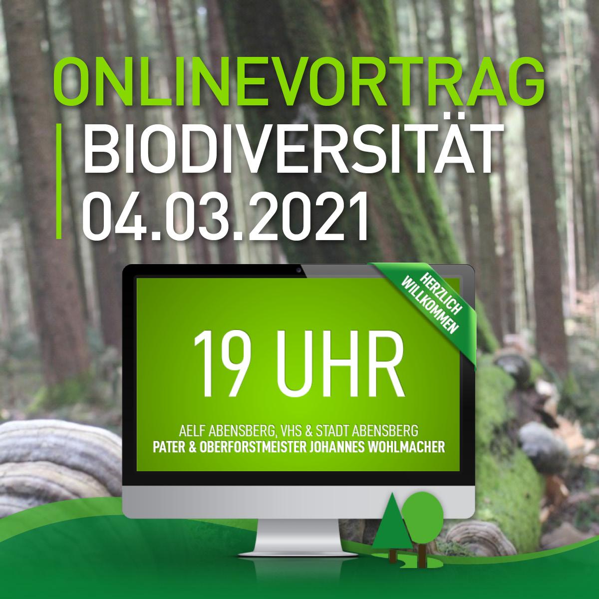 Read more about the article Biodiversität mit Pater & Oberforstmeister Johannes Wohlmacher