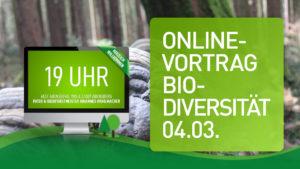 Read more about the article ONLINE-VORTRAG: BIODIVERSITÄT